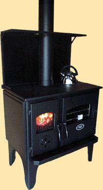 The Wagener Cooker - Slow Combustion Wood Burning Range