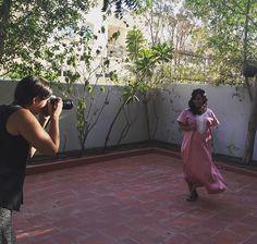 Photoshoot in my Elan.Dubai dress 😍📸