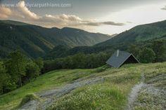 Mountain chalet in Greater Fatra. Carpathian Mountains, European Countries, Mountain Range, Czech Republic, Romania, Poland, Countryside, Country Roads, Explore