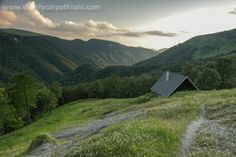 Mountain chalet in Greater Fatra. Slovakia.
