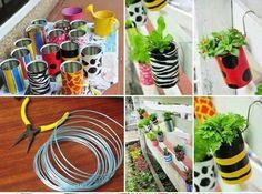 Con un poco de creatividad reciclas y cuidas el ambiente