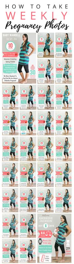 HOW TO TAKE WEEKLY PREGNANCY PHOTOS - Woman By Design™️