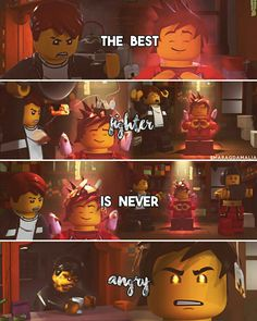 "[ ""The best fighter is never angry"" ] ⚪LEGO Ninjago ⚪Wu's teas (Episode 12) ⚪My edit. Hope you'll like it. :-) ⚪if you repost, please dont forget to give me credit. Credit isn't necessary but very appreciated."