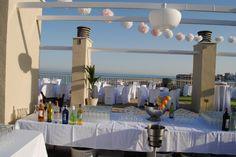 Weddings Spain. Bodas en la azotea del hotel
