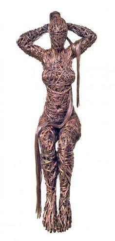 Richard Stainthorp | Wire Figurative Sculptor | Tutt'Art@ | Pittura * Scultura * Poesia * Musica |