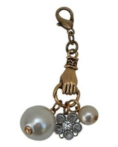 Charm Hand full of pearls and crystals perfect for Classic Legacy necklaces www.classiclegacy.com