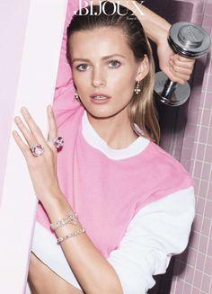 Edita Vilkeviciute by Katja Rahlwes for Vogue Paris February 2014 2
