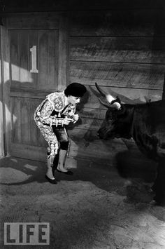 Lucy Takes the Bull by the Horns, 1958 Although Lucille Ball and Desi Arnaz pulled the plug in 1957, after the show had become too much of a grind, they kept the premise and the characters alive in The Lucy-Desi Comedy Hour, which saw the Ricardos and the Mertzes go on exotic adventures, like this 1958 episode that saw Lucy play matador. The couple made just 13 episodes over three years before the series ended in 1960 — along with Arnaz and Ball's marriage. Photo: Leonard McCombe/TIME…