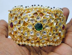 A Beautiful kundan bangle for your loved once