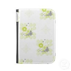 Green flowers Kindle cover