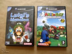 Nintendo Mario Themed Game Bundle Luigi's Mansion (gamecube) Mario Golf Toadstool Tour (gamecube)