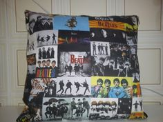 Almofada dos Beatles.