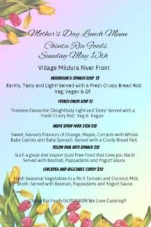 Chinta Ria Foods at Village Mothers Day! Mother's Day Brunch Buffet, Mothers Day Plants, Clams Casino, Breaded Chicken Cutlets, Restaurant Flyer, Winter Plants, Baked Ham, Mothers Day Brunch