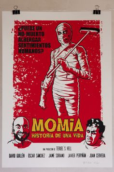 Momia. Historia de una vida by Jorge Rueda, via Behance