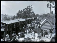 Toronto Railway Station, NSW, 6 October 1898