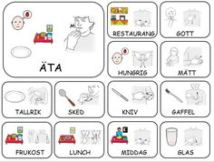 Sign Language Book, Learn Sign Language, Learn Swedish Online, Swedish Language, Preschool Songs, Deaf Culture, School Signs, Farm Theme, Kindergarten