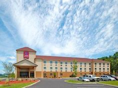 Bloomsburg (PA) Comfort Suites United States, North America Comfort Suites is conveniently located in the popular Bloomsburg area. The property features a wide range of facilities to make your stay a pleasant experience. Wi-Fi in public areas, car park are on the list of things guests can enjoy. Designed for comfort, selected guestrooms offer wake-up service, desk, alarm clock, telephone, internet access – LAN (complimentary) to ensure a restful night. The hotel offers various...