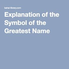 Calligraphy, numerology, and theology of Baha and the ringstone symbol. Great Names, Numerology, Symbols, Calligraphy, Book, Penmanship, Icons, Livres, Calligraphy Art