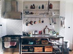 Elsa Billgren's kitchen from Elle Decoration