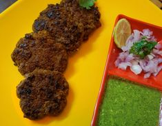 Lakhnavi galawat kebabs are tender melt in mouth kebabs. This is the authentic recipe from lucknow. Can be made with beef as well