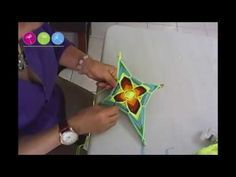 YouTube Estrella Cardinal, Eye Mandala, Kite Designs, Craft Projects, Projects To Try, Gods Eye, Dot Painting, Diy Crochet, Youtube