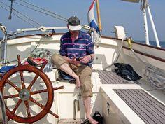 Schooner Gypsea (ex La Goele). Under sail. (Foto R.P.van Dooren 2005)