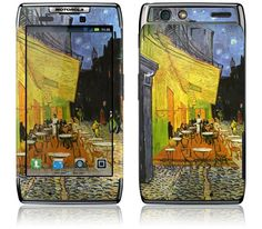 Cafe at Night by Vincent van Gogh for the Motorola Droid RAZR / RAZR MAXX