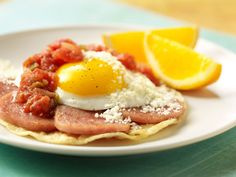 Huevos SPAM® Cheros Recipe. #CAREPackageRecipes