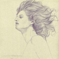 Retrato (Drawing) https://www.facebook.com/ElEternoproblema/