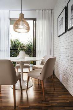 Decoração de apartamento pequeno traz soluções inteligentes de aproveitamento de espaço