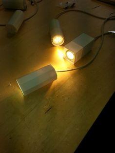 lampade stampate in bioplastica da http://www.filippolosilab.com/ su nostro progetto per oreficeria