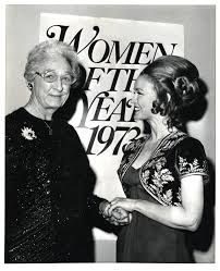 In Apgar was honored as Woman of the Year in Science and Research by Ladies Home Journal magazine. She is shown here with Kathryn Crosby at the awards ceremony at the Kennedy Center in Washington, DC. Virginia Apgar, Apgar Score, Brother Lawrence, Mount Holyoke College, Flying Lessons, Gender Inequality, Wax Museum, Borrow Money, New Hobbies