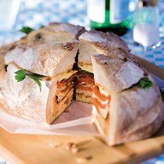 Recept - Picknickbol met tonijn - Allerhande