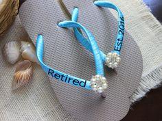 Retirement gift for women Retired Teacher by BeachWeddingParty