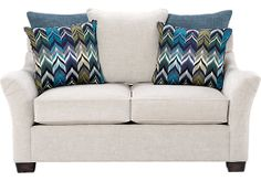 picture of Cindy Crawford Home Sasha Loveseat  from Loveseats Furniture