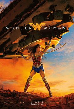 dcfilms: New poster for Wonder Woman (2017)