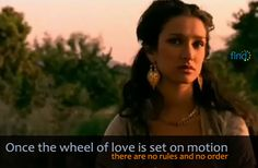 A quote from the 'Kamasutra - A Tale Of Love' movie around 56:40