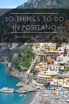 Positano is a beautiful beach town in Italy, famous for its colorful buildings, excellent restaurants and ideal location on the Amalfi Coast! #ItalyPlanning