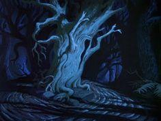Animation Backgrounds: Ichabod Crane