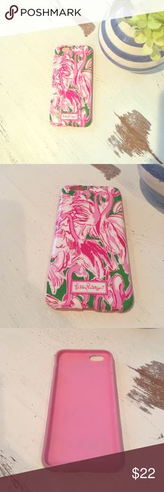 Lilly Pulitzer phone case iPhone 6/6s phone case from Lilly Pulitzer! Rarely used, in great condition.  NO TRADES. Please make offers through the offer button! Lilly Pulitzer Accessories Phone Cases