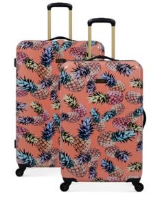8278045e9 Karriage-Mate Gold Leopard 6-piece Expandable Spinner Luggage Set - Free  Shipping Today - Overstock.com - 21677501 - Mobile | pani | Pinterest |  Luggage ...