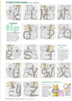 Koala Alphabet 2 of 2