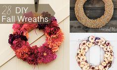 28 DIY Fall Wreaths | Henry Happened