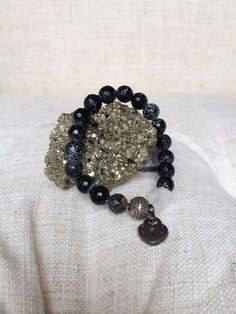 Black crackle/black agate: All agates are said to foster love and an appreciation for nature, soothe emotions and provide abundance. Agates ...