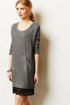 Sweatshirt dress from Anthro