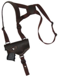 S&W M&P ShieldBrown  Leather Shoulder Holster Concealed