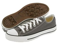 Converse Chuck Taylor® All Star® Ox Charcoal - Zappos.com Free Shipping BOTH Ways