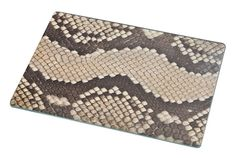 Rikki Knight Photo of Snake Mosaic Leather Texture Large Glass Cutting Board >>> Hurry! Check out this great product (This is an amazon affiliate link. I may earn commission from it)