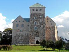 Turun linna i Turku Finland