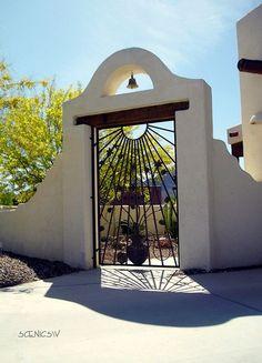 Southwest Home Entrance...
